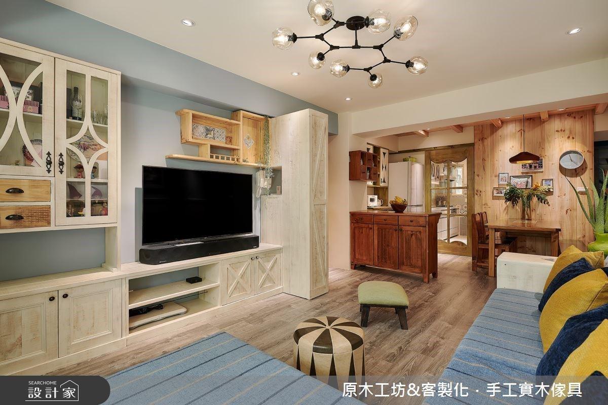 老屋翻新延用舊家具,擁有明亮採光、玄關和中島讓人幸福再住20年!