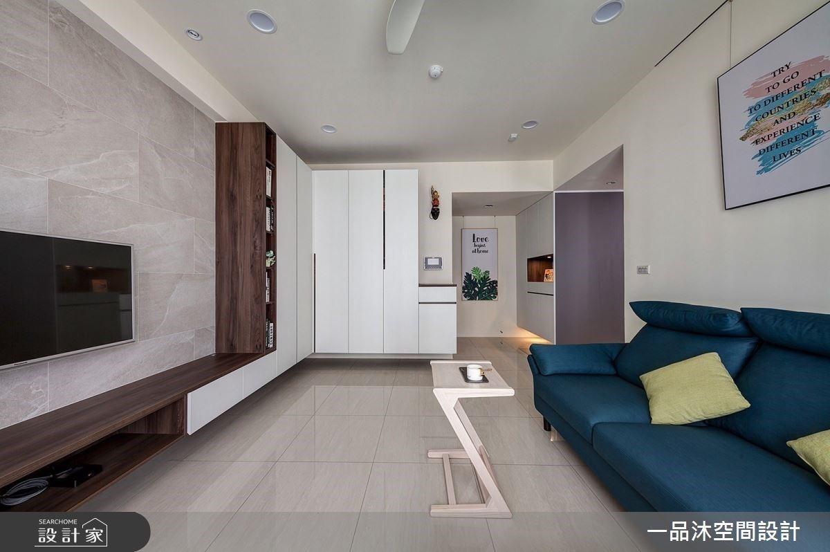 現代風小宅夢幻天地在玄關!三面收納、磁性黑板牆成功收服全家人