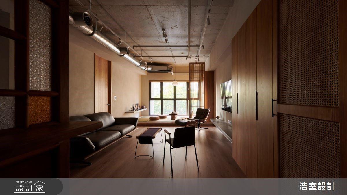 與世無爭的溫柔和寧靜!和室臥榻、木地板和花窗,細膩勾勒25坪日式禪風居所