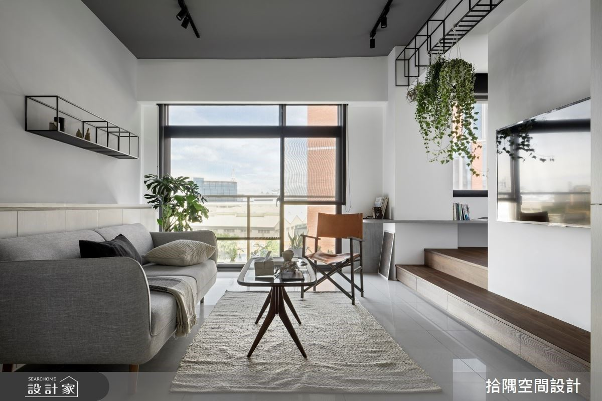 走入純白的日式寧靜感!22坪清爽系混搭宅,讓每一天的視野都倍感愜意