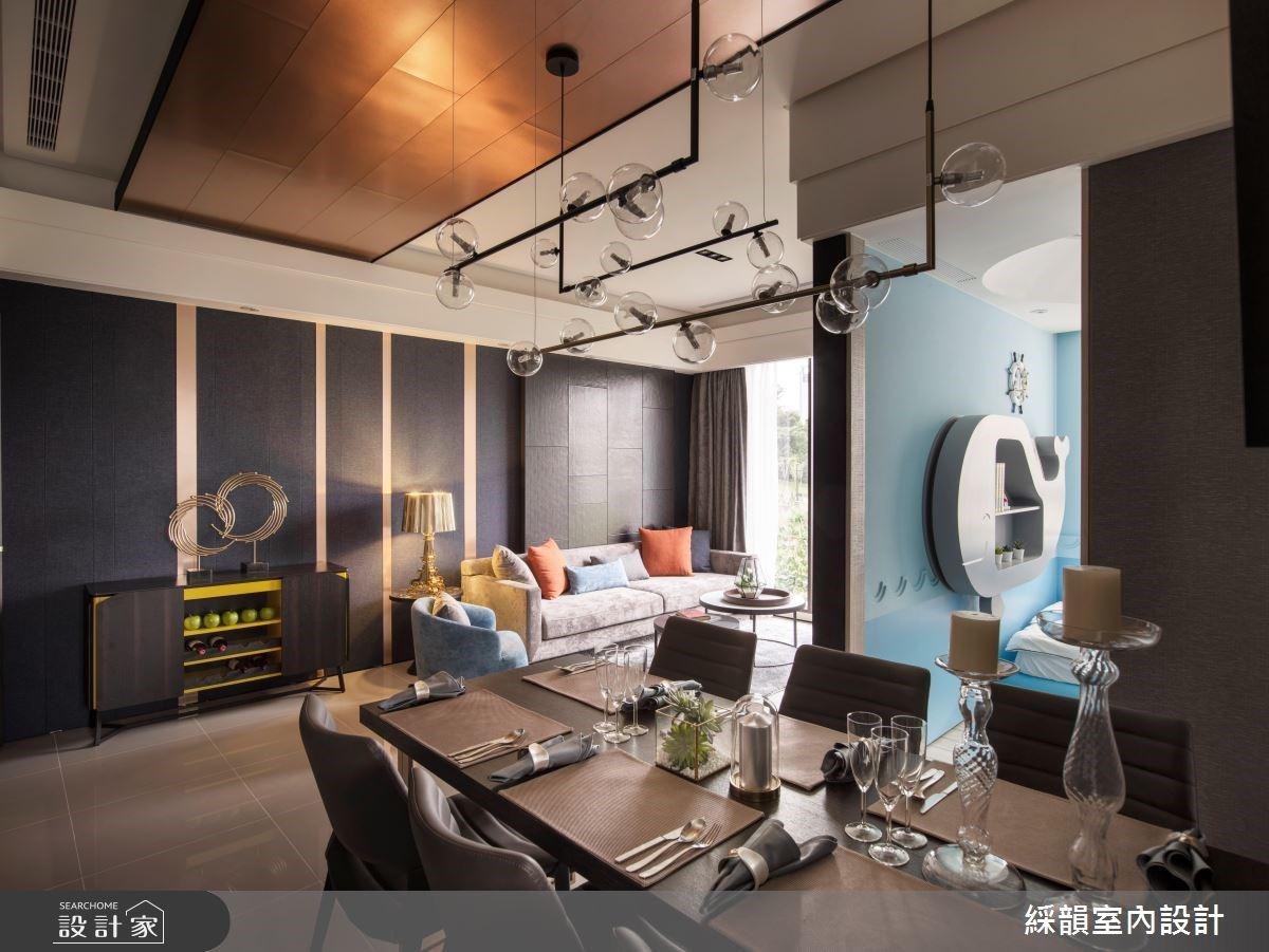 預售屋的設計藍海!質感現代風下,最適合小家庭生活的三房兩廳設計