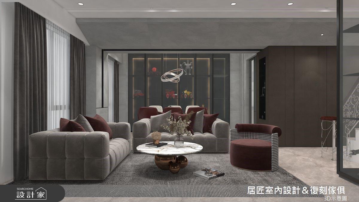 經典灰階現代風豪宅 優雅自在凝聚三代人的心