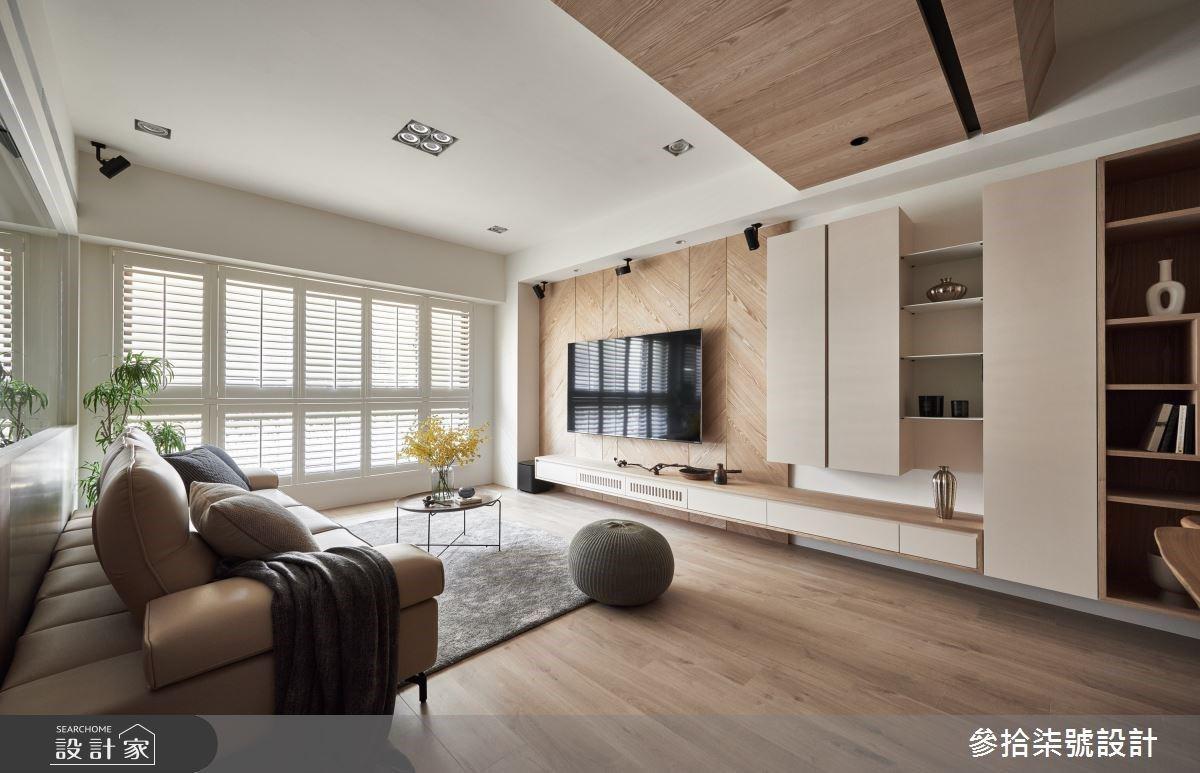 最愛北歐日光宅!木質、玻璃屋書房與多元造型收納 延展開闊溫潤的幸福日常