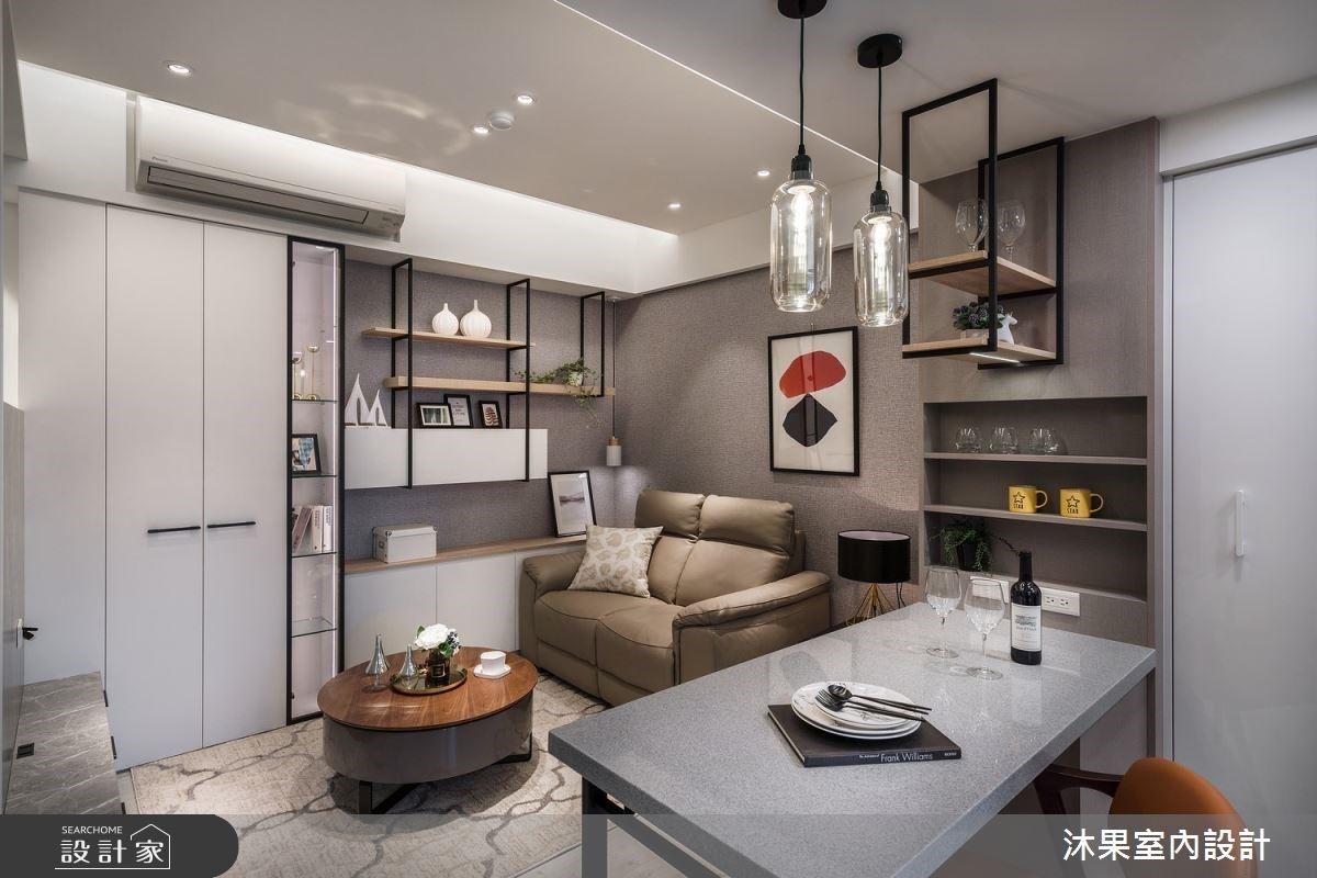 15坪混搭單身宅!小坪數的機能改造,讓你的單身生活更精緻