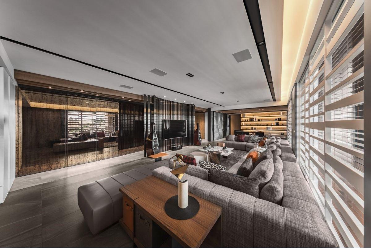 量身訂製動線、材質、度假氛圍,被金獎肯定的層峰豪宅