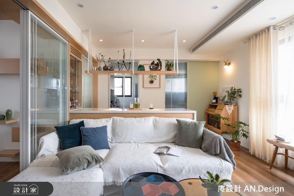 鹽系自然混搭小宅 滿足裸透的室內居家