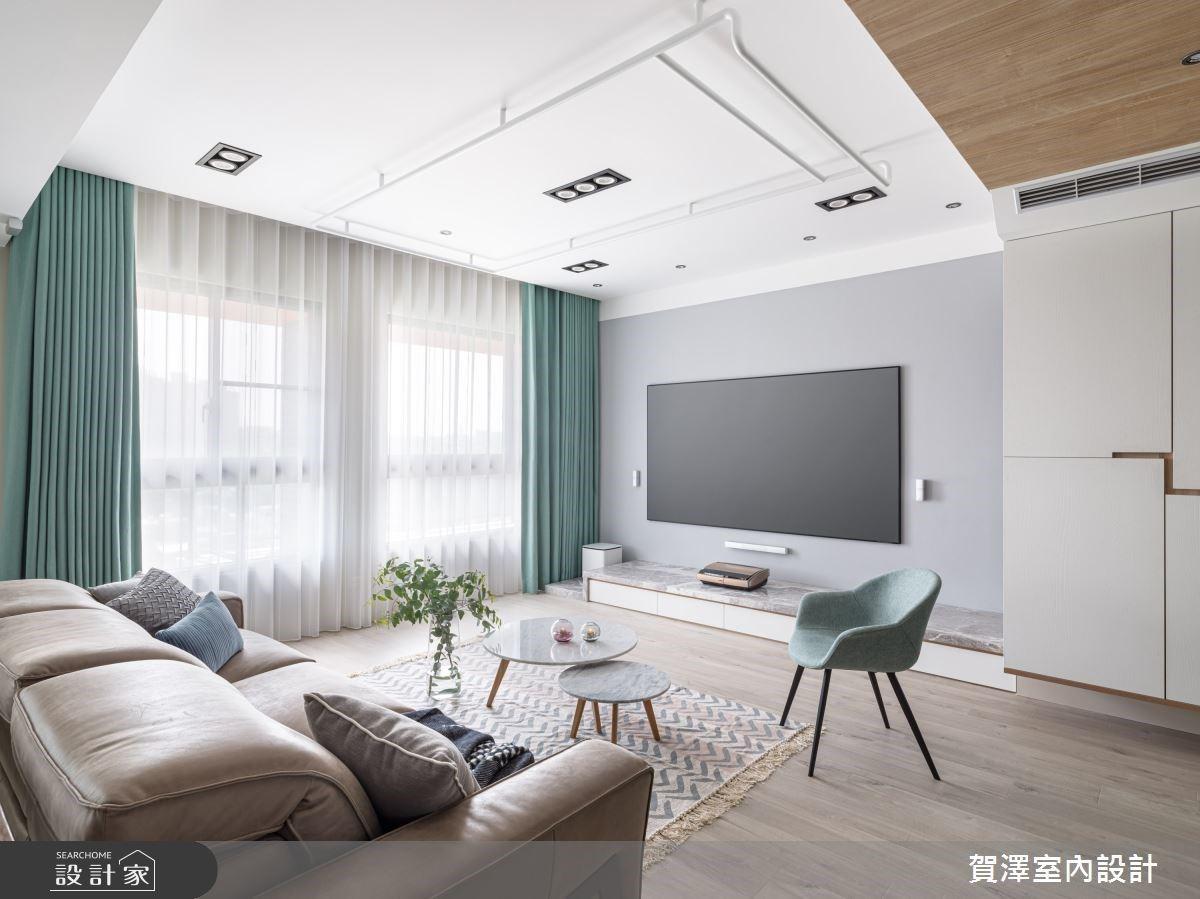 毛胚屋格局改造,擁有明亮客廳、ㄇ字型廚房及中島、更衣室不是夢!