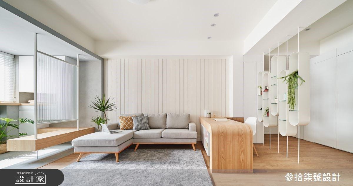 老屋翻新大成功!  3房2廳純白 X 木質感的北歐宅,比雜誌裡的家還美!