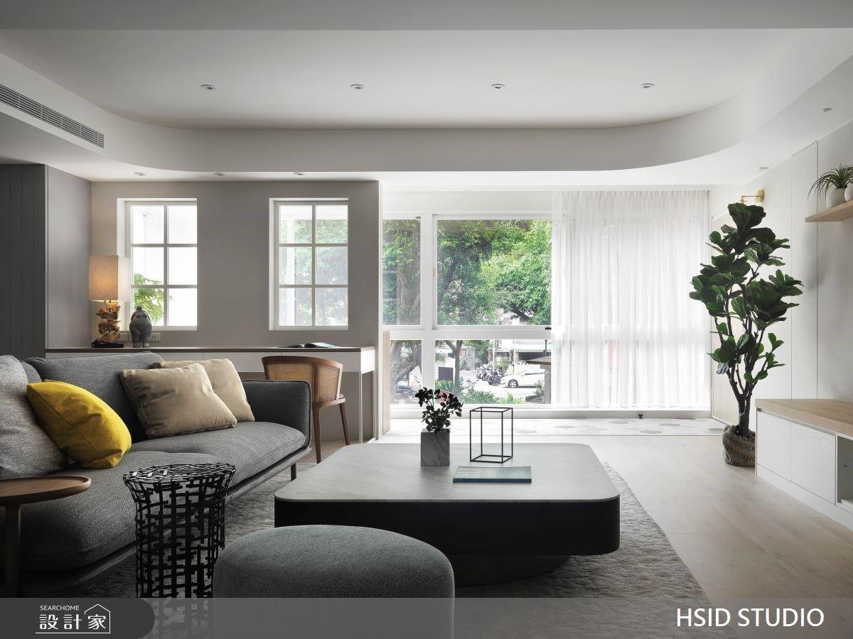 擁抱迷人陽光與綠意!36坪老屋翻轉格局,化身現代明亮的無印居家