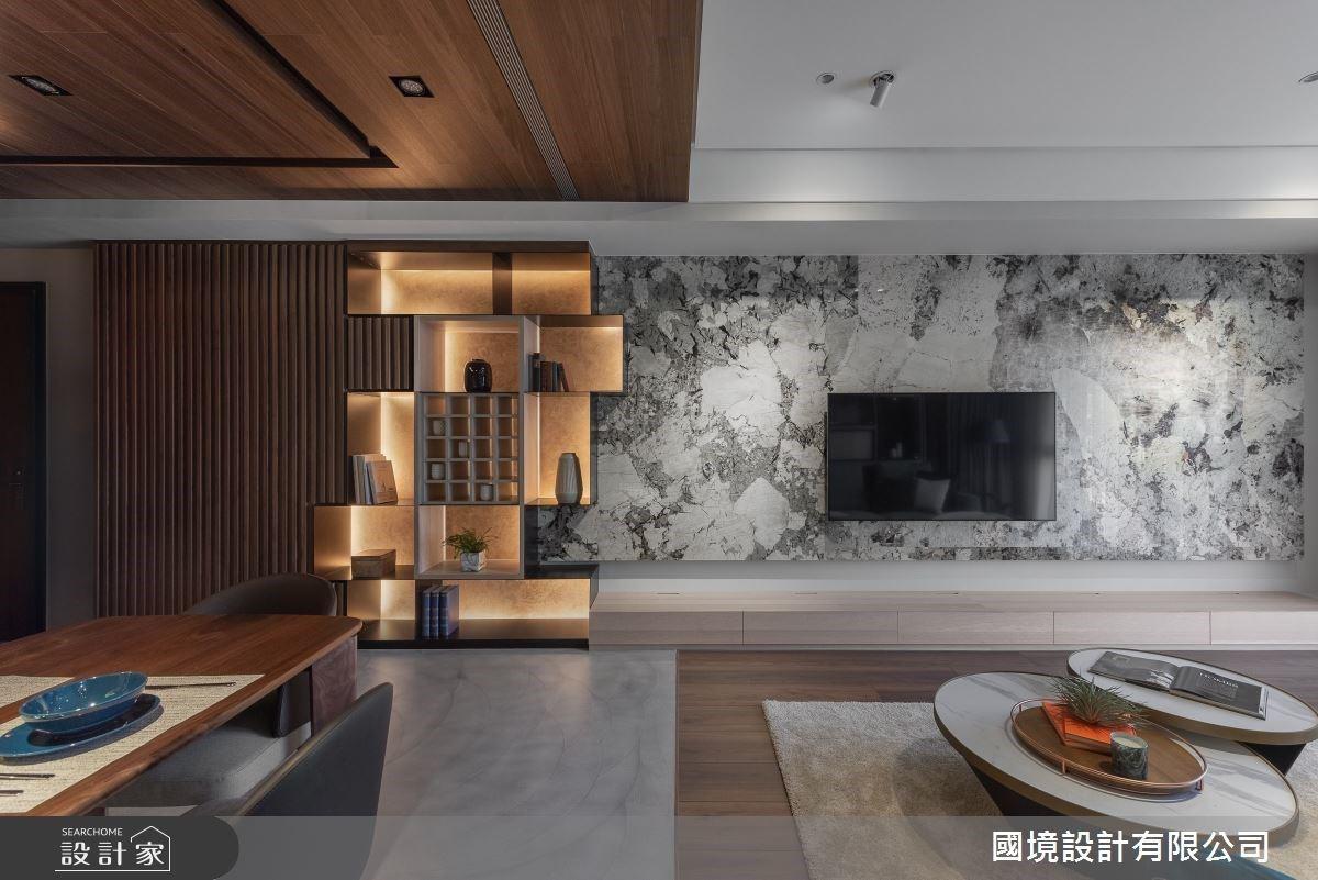 品嚐橡木與美酒的淡雅香氣!55坪大地色系現代風,讓收納成為最美的風景