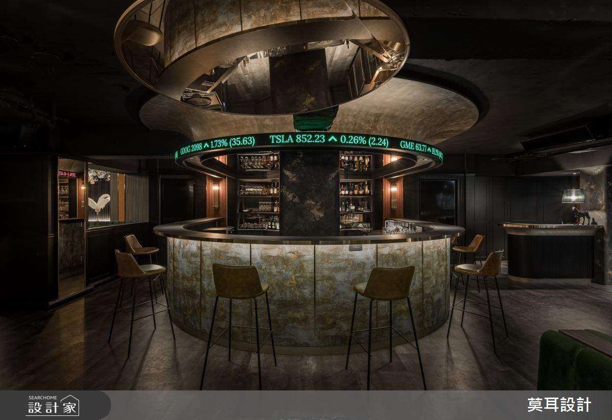跑馬燈中島演繹新型餐酒俱樂部!英式古典混搭現代奢華,打造金融時尚交流天地