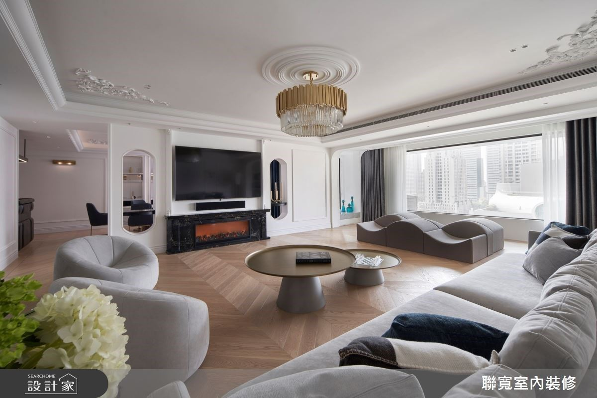 法式風格質感生活,精緻和諧的完美居家