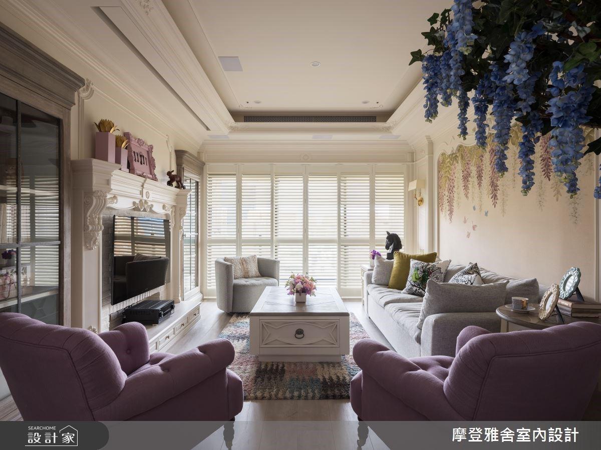 紫藤花的優雅情懷,唯美餐廳、夢幻廚房、粉嫩浴室,讓人一見傾心!