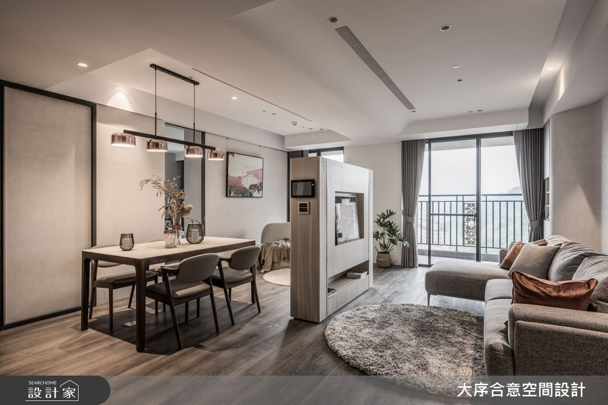 走入純白澄澈的療癒感!29坪簡約現代風,木質、綠意和陽光打造會呼吸的家
