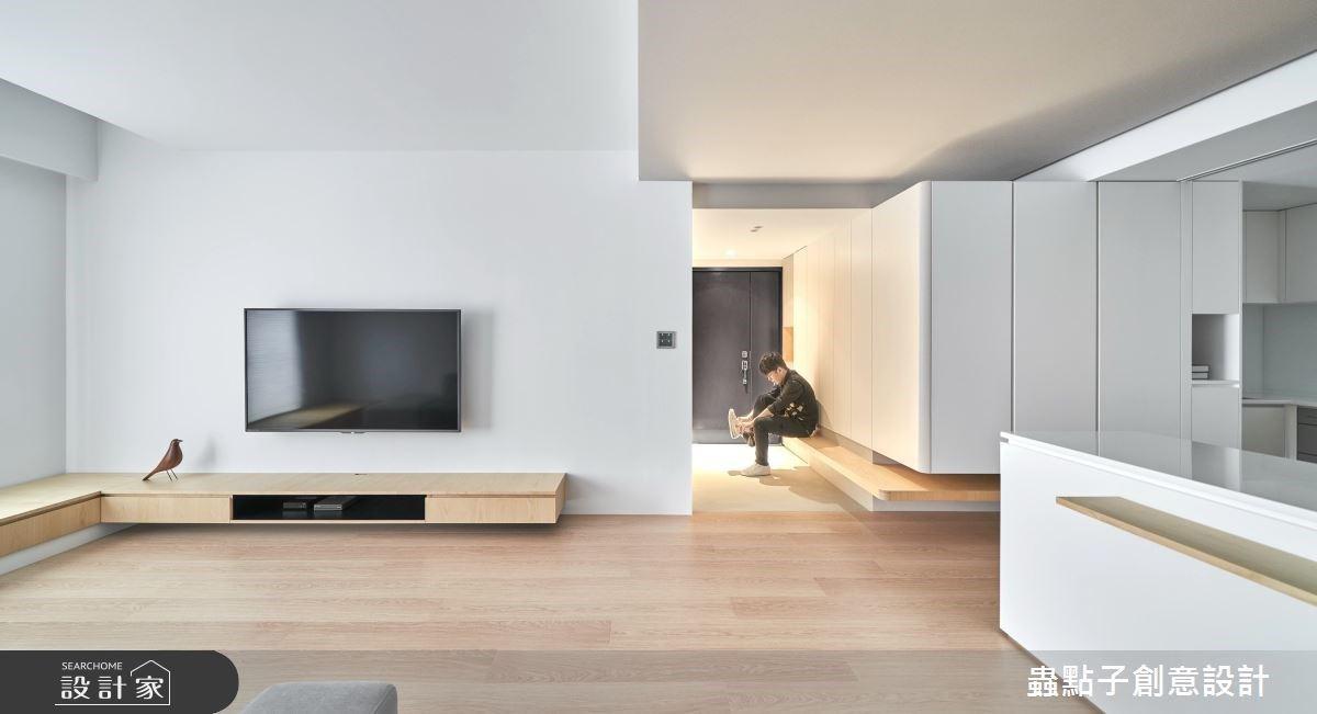 24坪中古屋捨去一房,明亮採光、滿足收納、化簡單為不凡