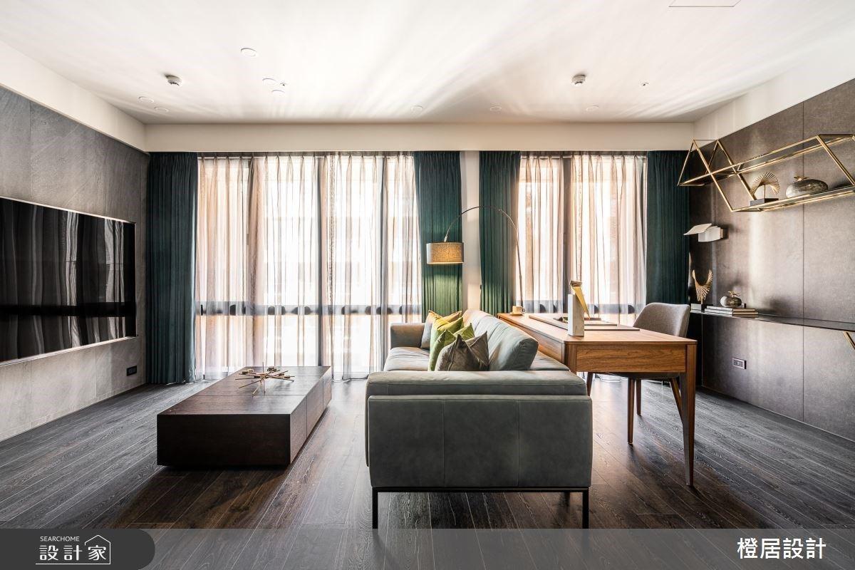 解放格局享受寬敞空間與好採光,精選材質展現飯店精品氛圍