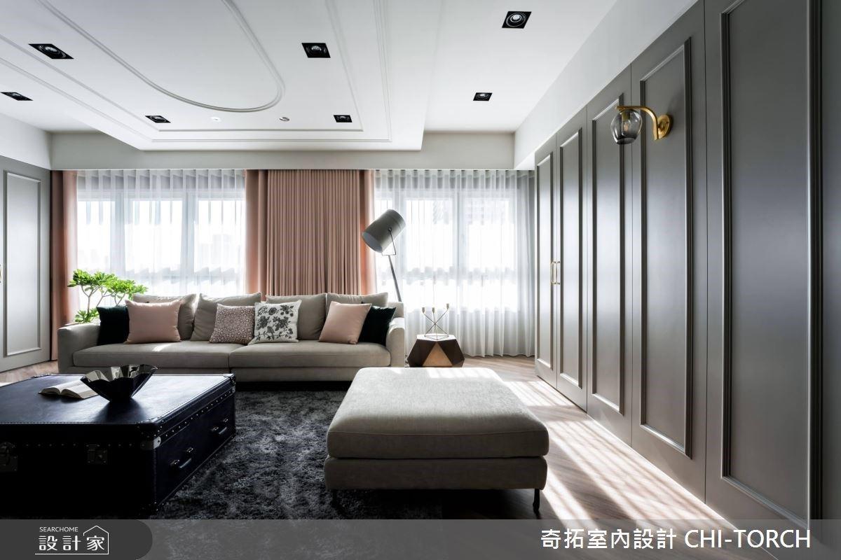 預售屋客變成功案例!30坪美式風寬敞客廳、時髦餐廳,宛如 IG 打卡熱點