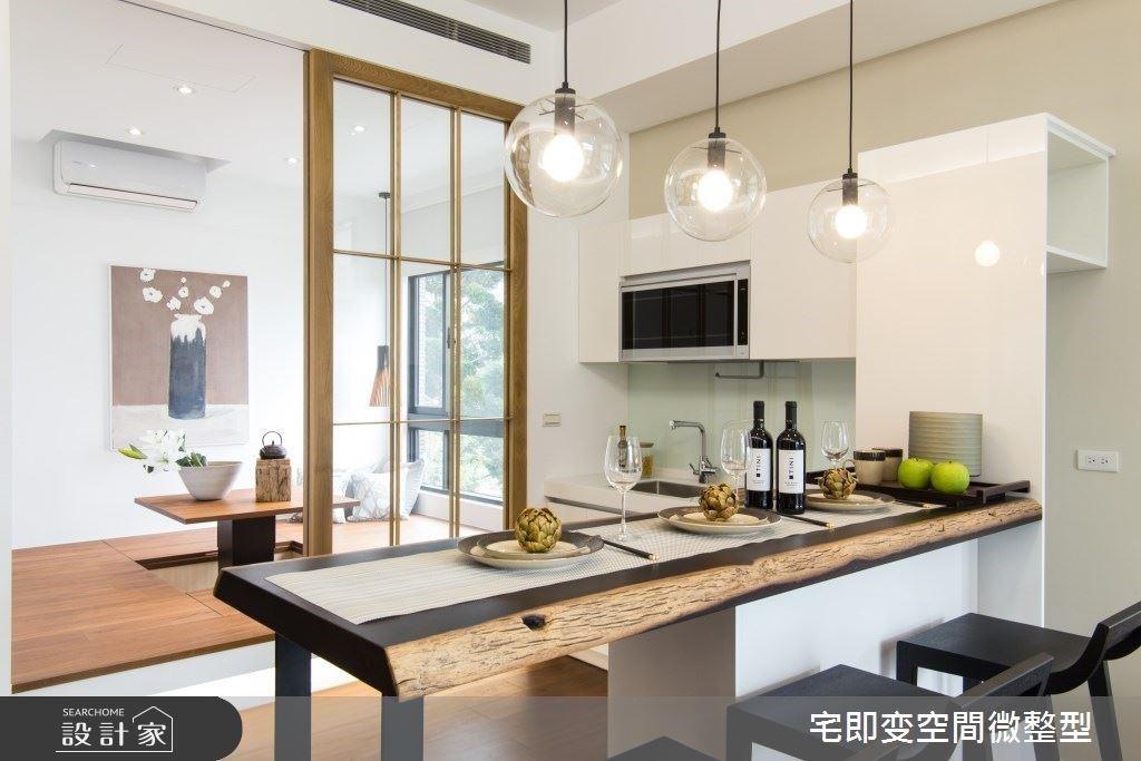 微調空間動線!打造理想日式輕食吧與小和室,獨享20坪日式清新小生活