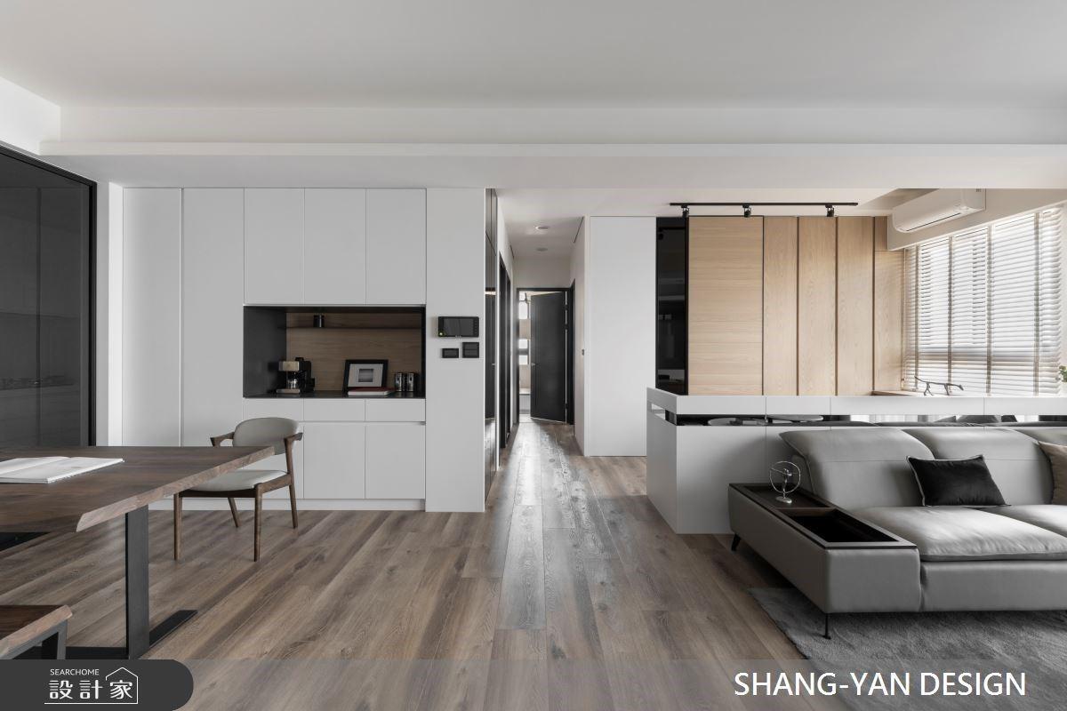 都市裡的心靈棲息地! 30 坪北歐宅擁抱開闊視野、豐富收納機能性