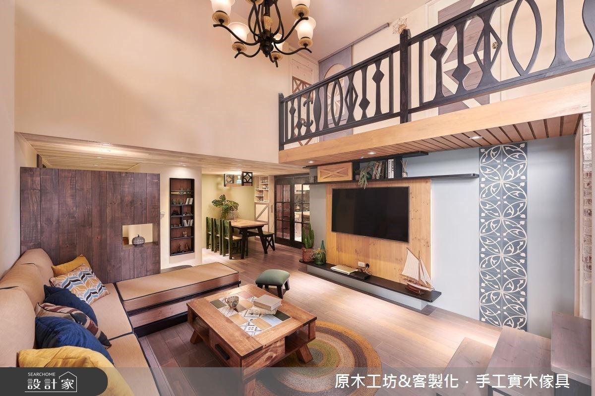 整合格局、引入好採光,客製化實木家具讓家安全好住