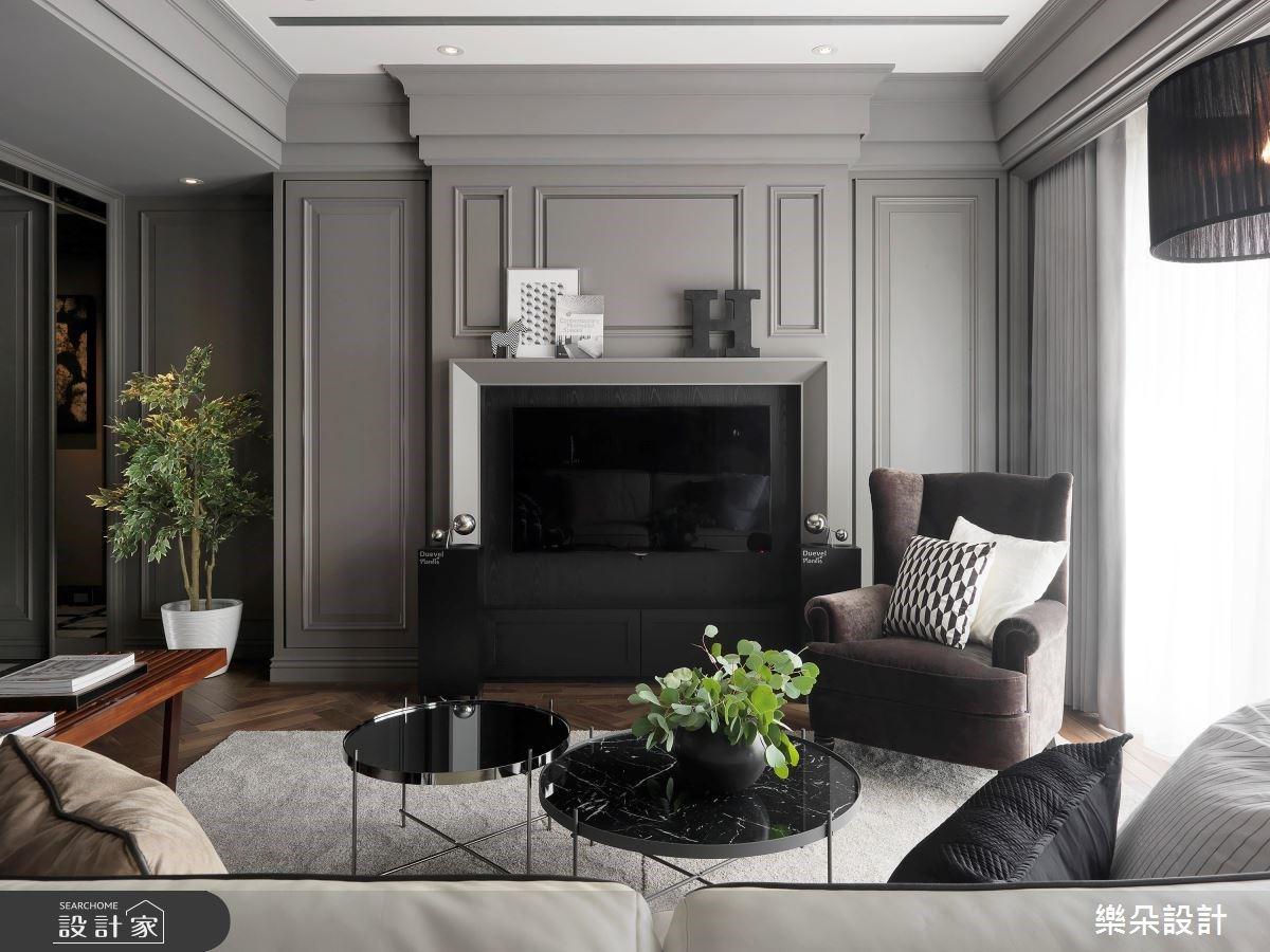 40坪新古典居家宅,飽含浪漫異國情調又兼具實用性