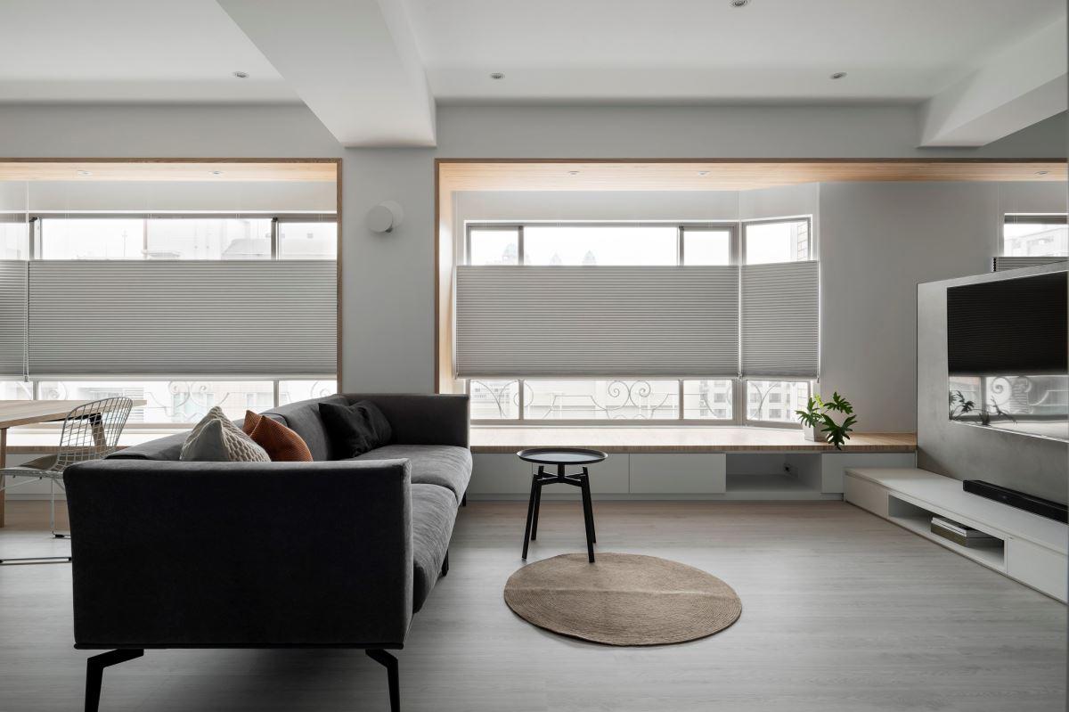 日光如影隨形!35坪現代宅成就庸碌日常裡的慢生活