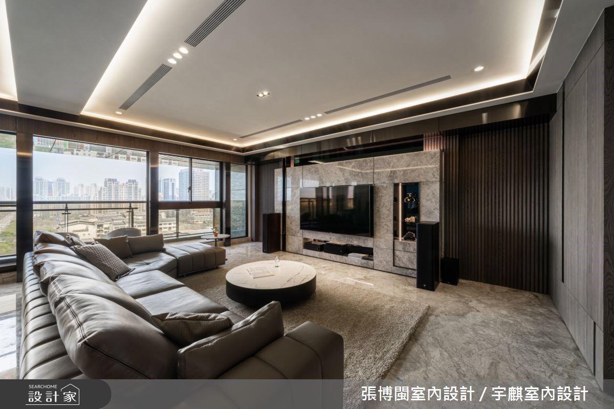 入住精品飯店質感!大面窗景與異材質靈感,創造低調時尚的藝術宅邸