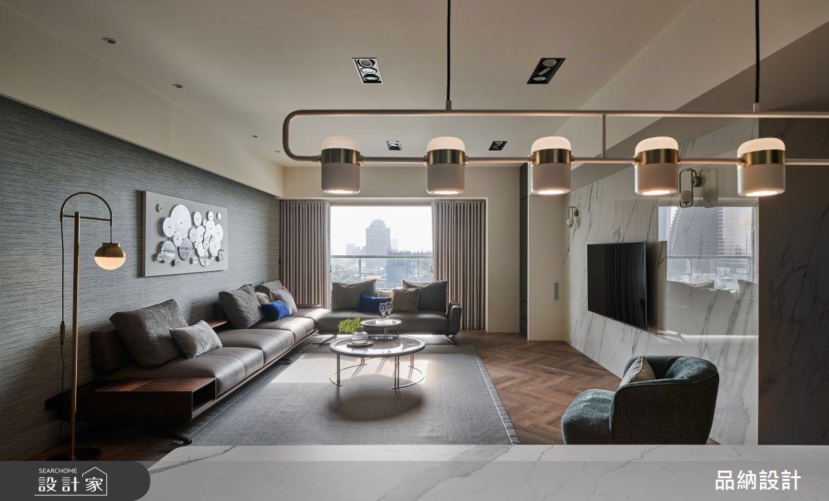 寬敞大客廳、熟齡安全設計,打造獻給爸媽的 50 坪現代舒適退休宅