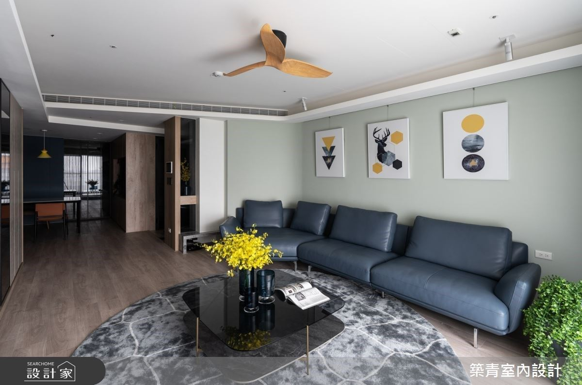 用溫度搭建我們的家 以莫藍迪色上色的恬和現代宅