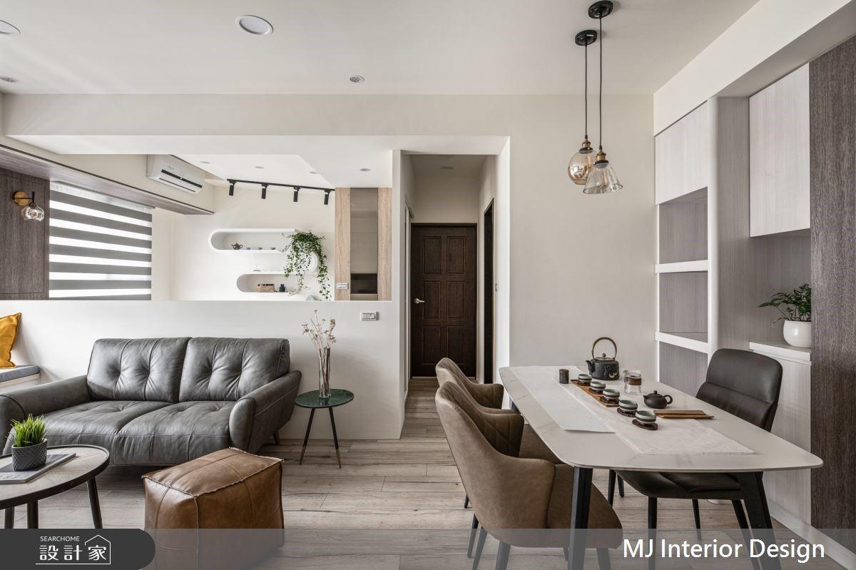 給退休日常的美好提案,23坪混搭宅讓生活伴隨四溢茶香與溫煦氣息