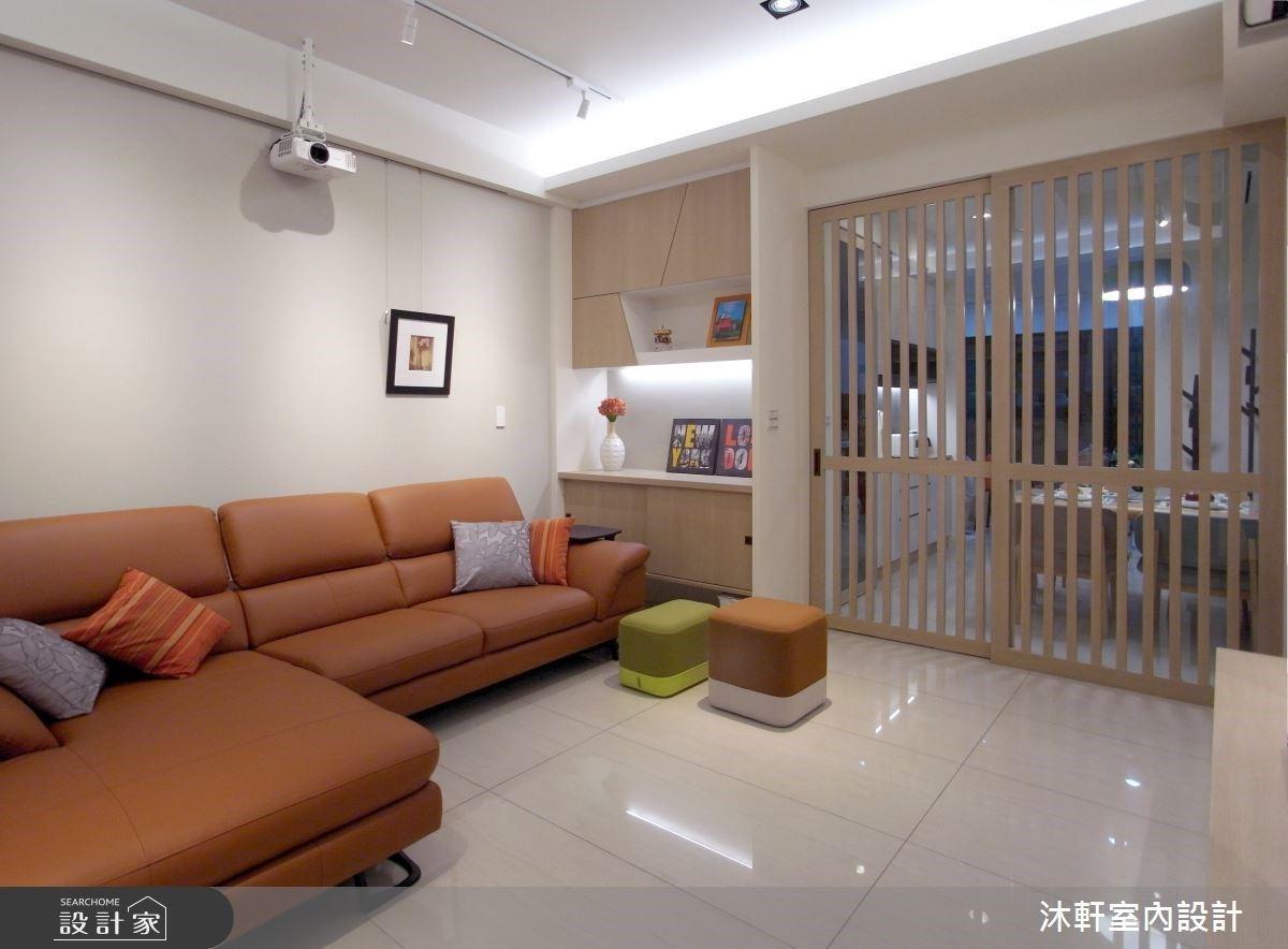 26坪清爽木質北歐宅,活動式設計為一家三口預留未來生活的彈性