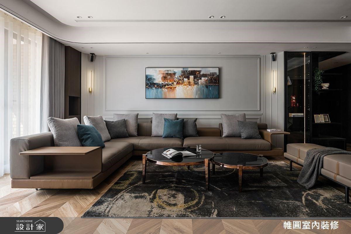 低調奢華的豪宅氣場!現代風格讓我的家不侷限於一種模樣
