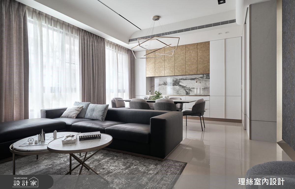 新中式風獨有的冷暖並存 充滿細節的大器微奢宅