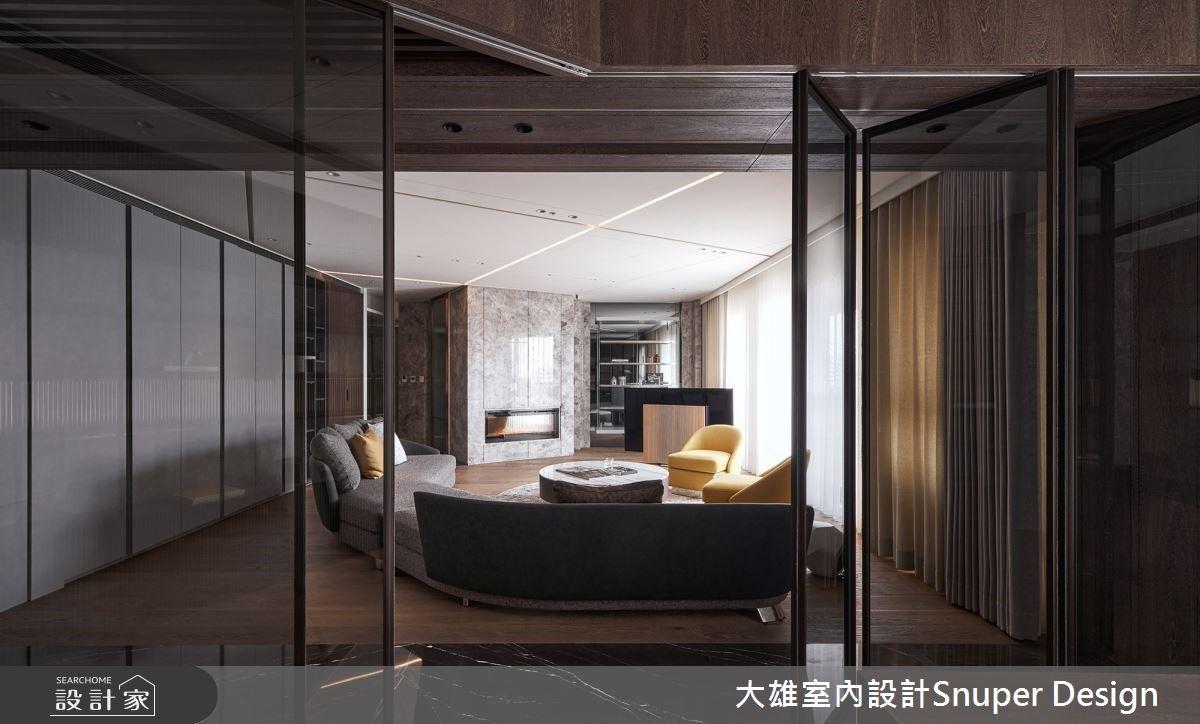 解放電視牆、瓦解方形格局,現代風豪宅設計與時俱進演繹都會優雅