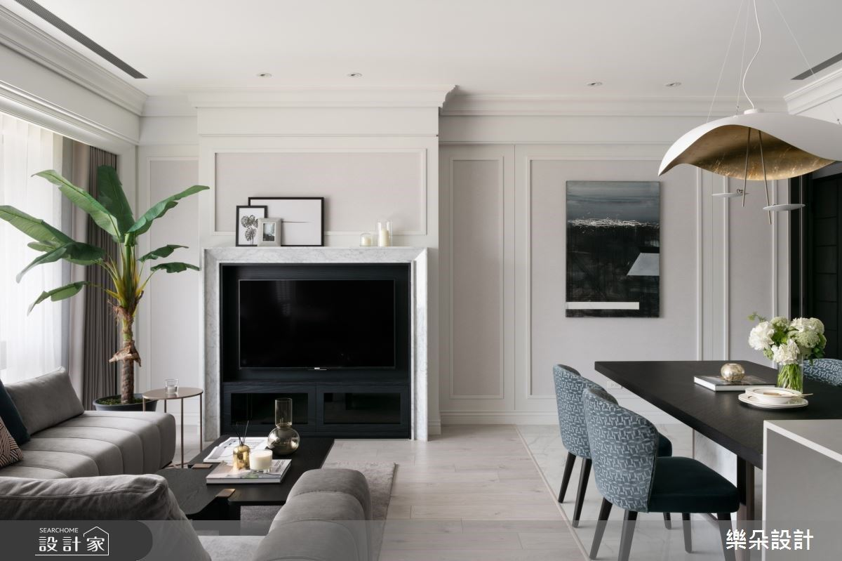 32坪新古典單身宅,極限機能給獨居時刻一個嶄新提案!