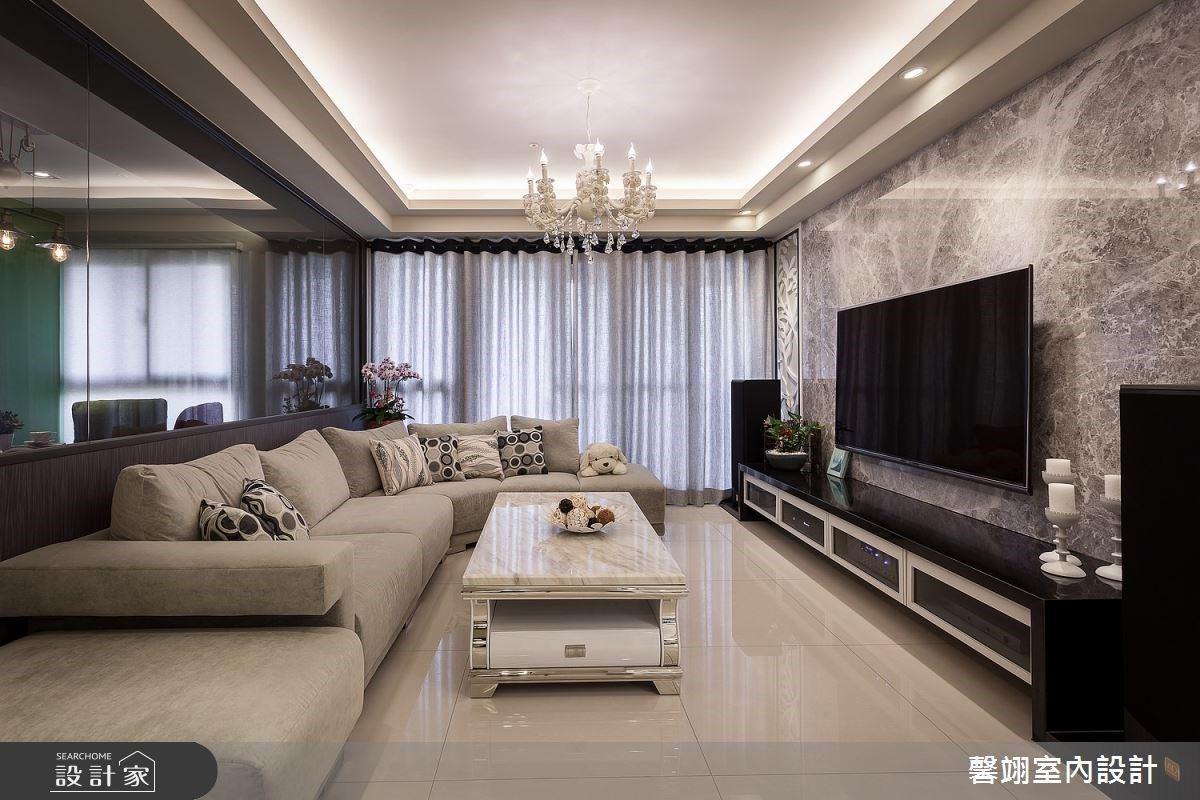 通透屏風、玻璃屋多功能書房的巧思!家放大一倍的優雅現代風私宅