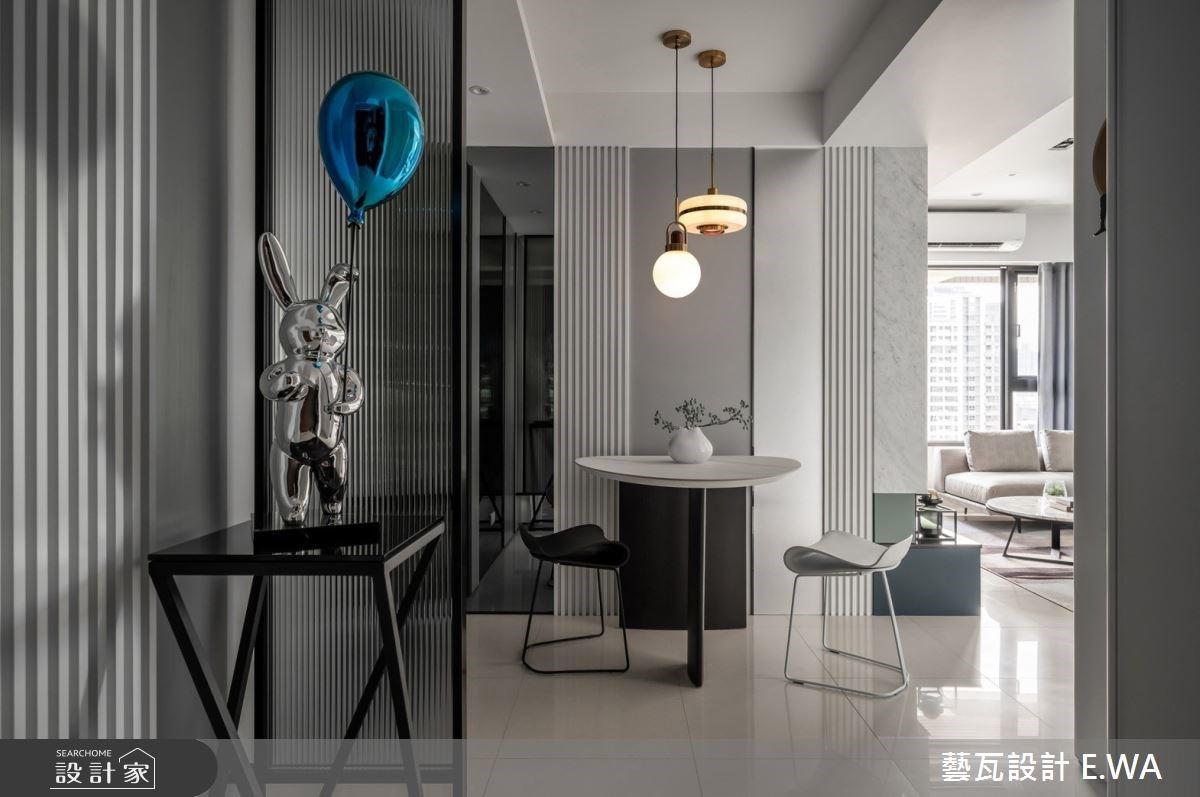 38 坪也能有百坪豪宅奢華感!三房兩廳讓小家庭住得舒適又有型