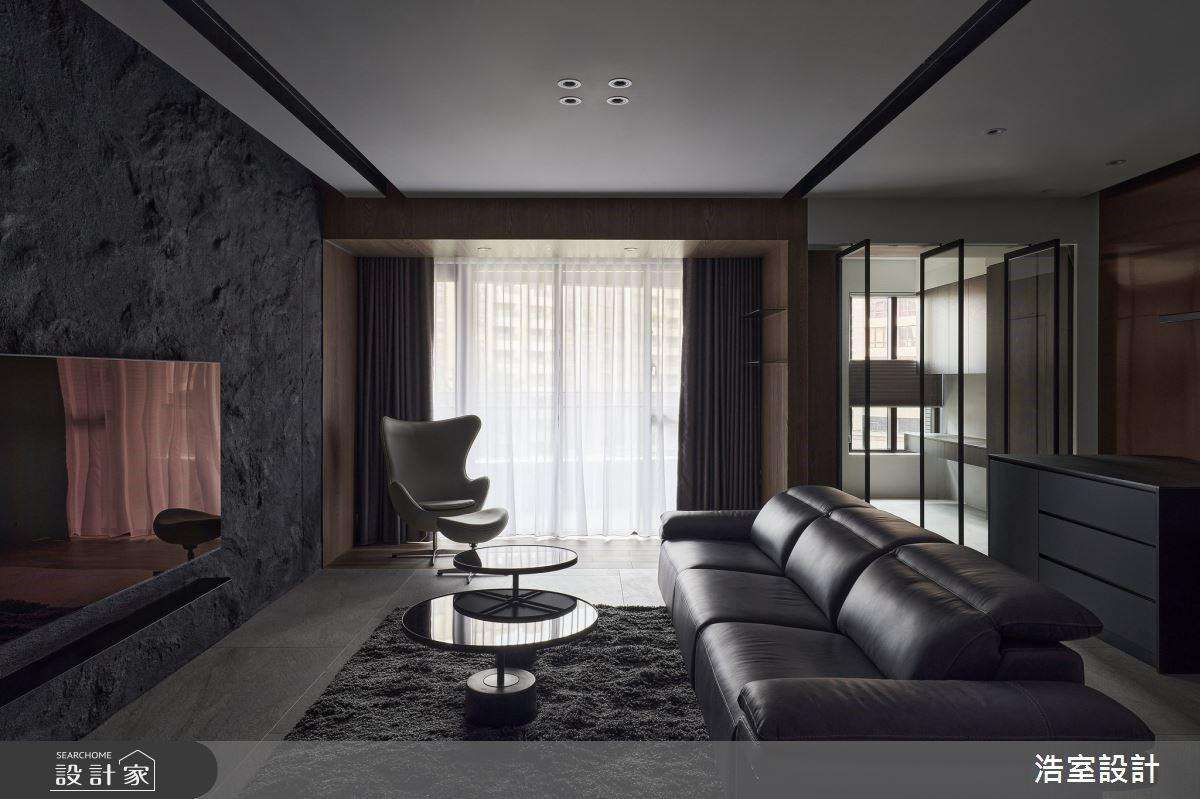 自然質地X開放通透隔間,回歸生活本質的現代風私宅