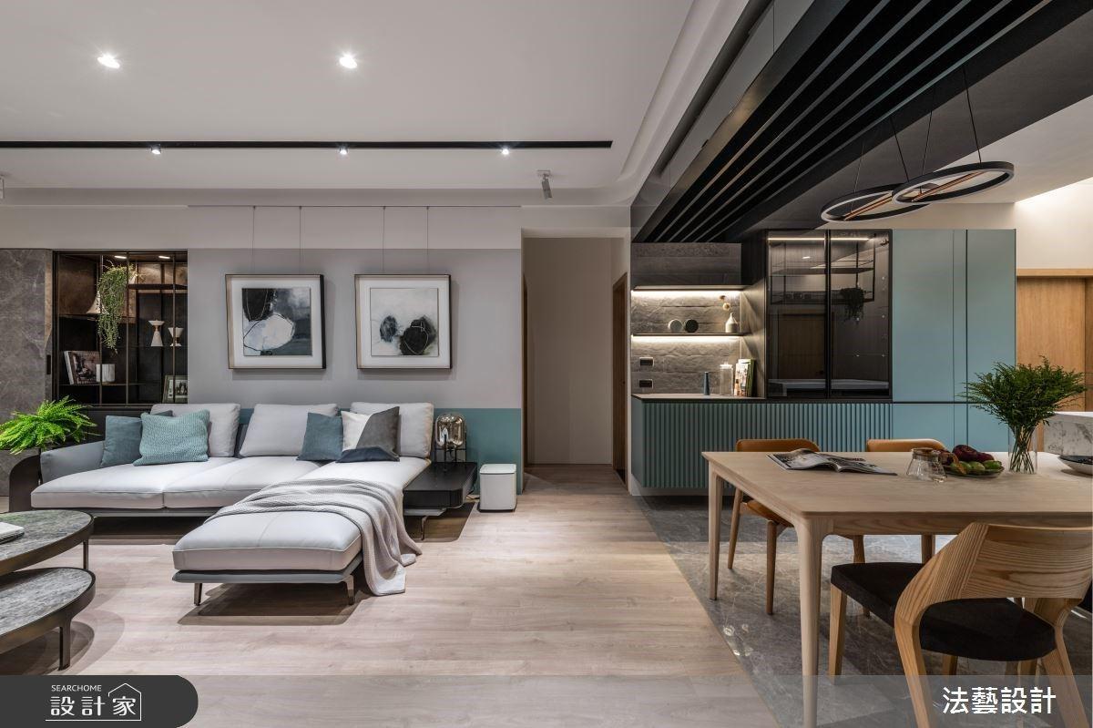 48坪中古屋翻新!中島餐廳X自然綠意X完美更衣室,豐盈家的多元樣貌