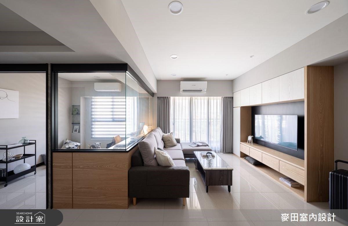 百萬內打造我們的新婚宅!清爽迷人的22坪簡約木白系居家