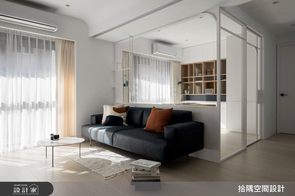 20坪清爽木質宅,大面積留白空間陪你走入慢生活的愜意