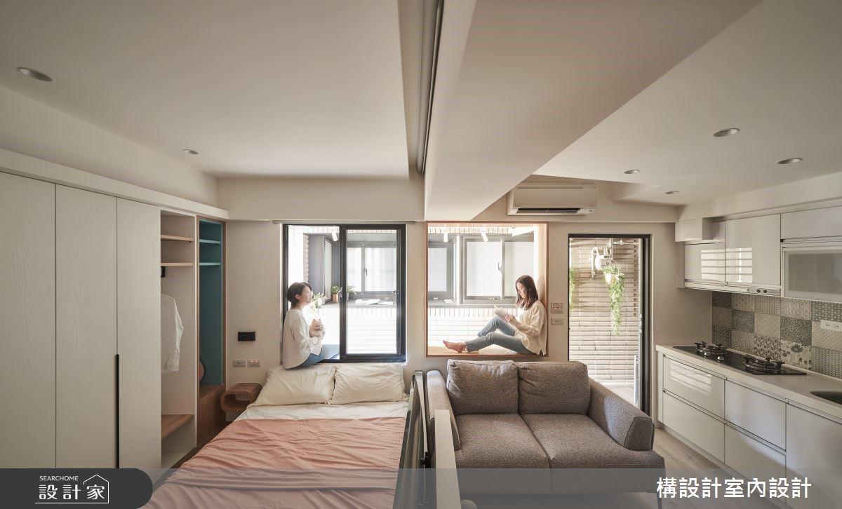 氣質女醫師的小生活!11 坪無印風小宅完美劃分房與廳,還有舒適大陽台