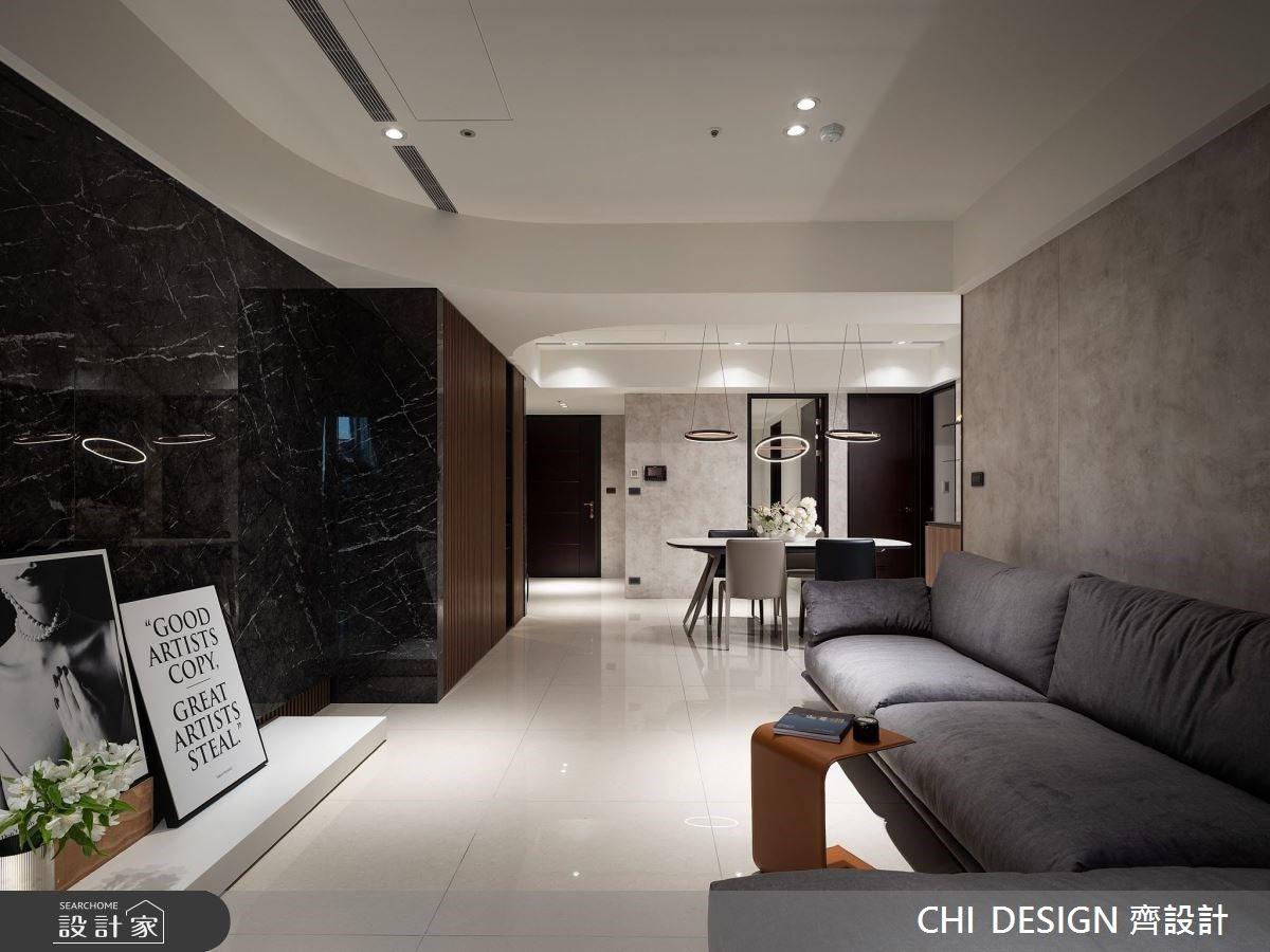 時而現代奢華,時而紓壓溫暖!異建材精準拿捏完美掌握住宅氛圍