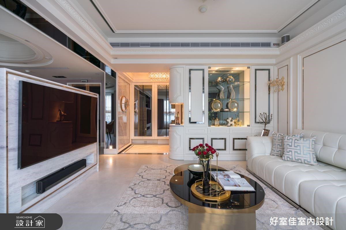 新古典風豪宅調整格局、善用建材、增設更衣室,實現女主人的少女夢