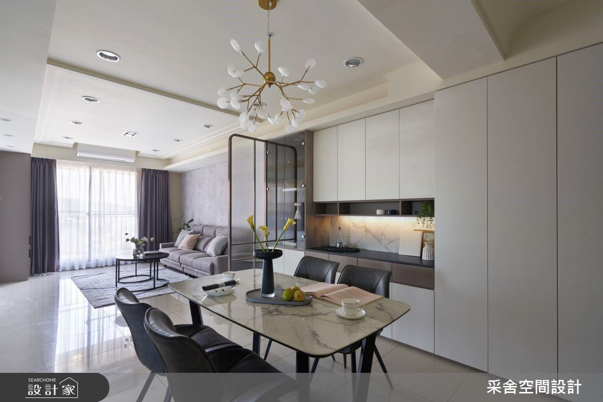 玻璃拉門隔出現代新生活!客廳隱私升級、廚房油煙不亂飄,書房空間超展開