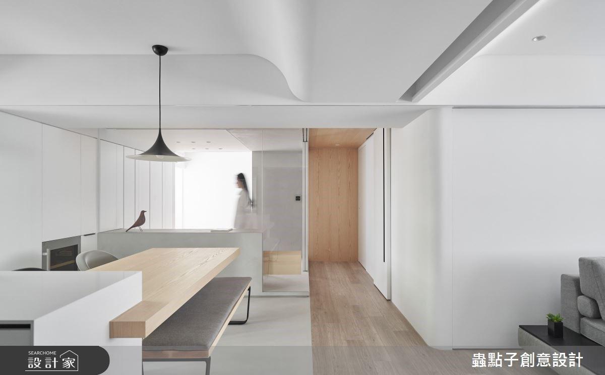 老屋翻新舒適退休宅!拉門巧妙運用,彈性隔間輕啟簡約多元的生活樣貌