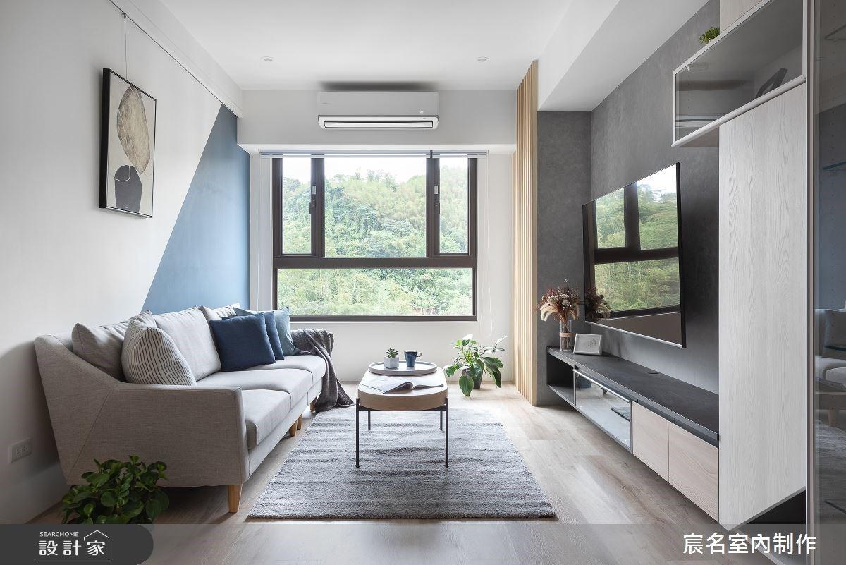 療癒身心的綠意和好採光!30坪簡約風親子宅,用收納創造絕佳空間感