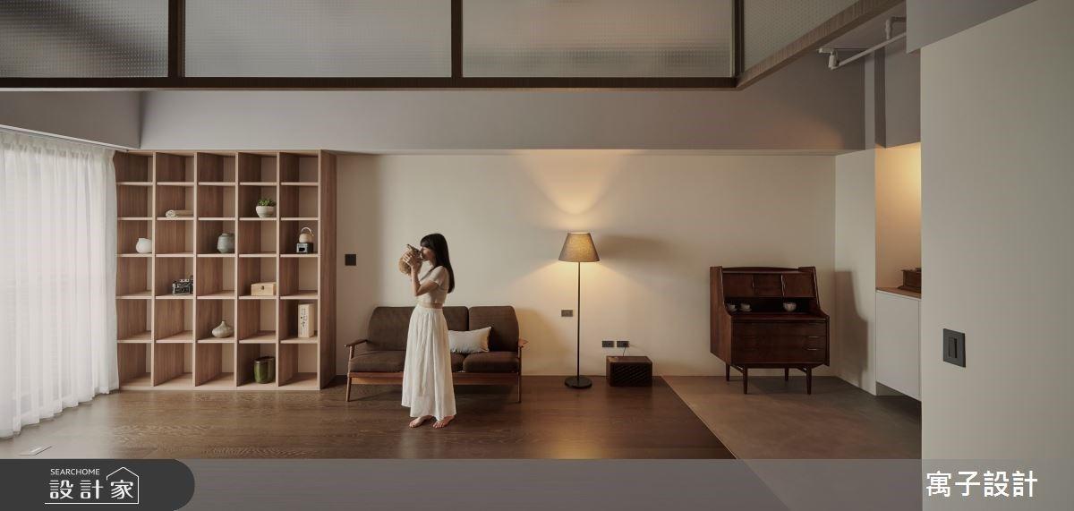 帶點復古情調的日式無印風!清新採光、暖木點亮小坪數私宅