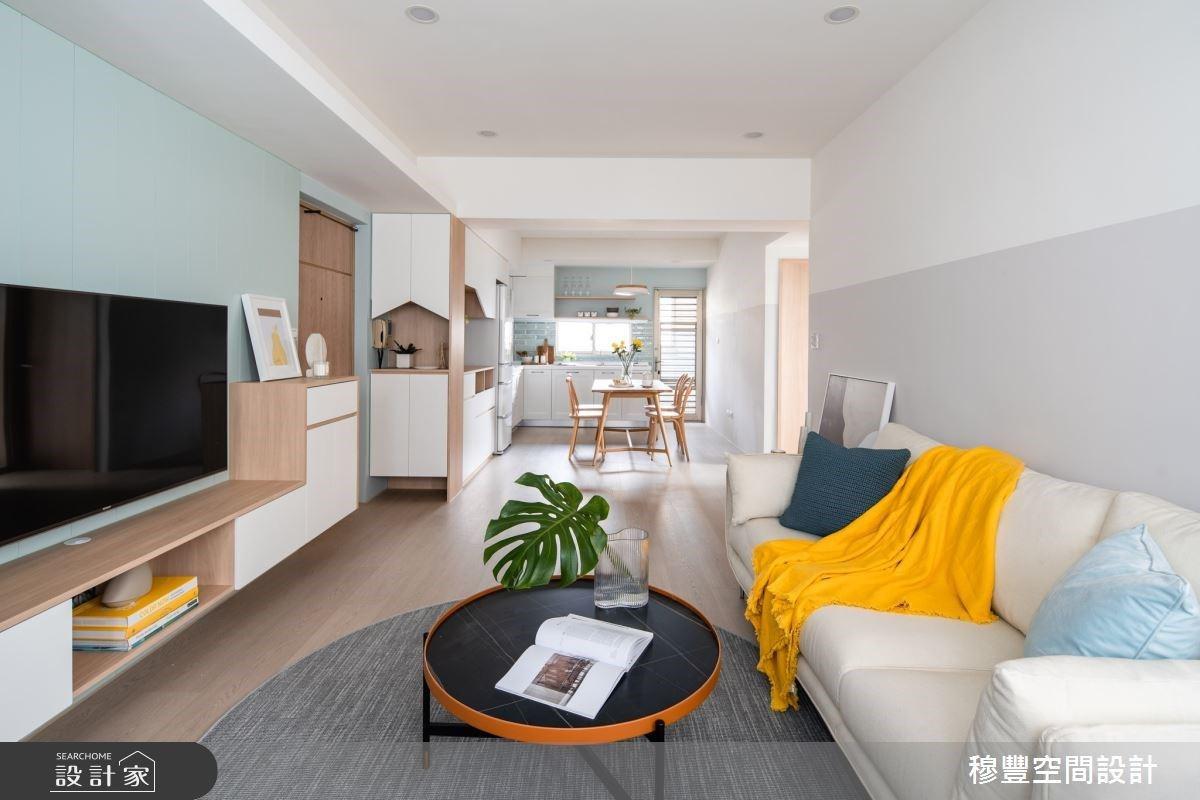 宛如雜誌上的夢幻餐廚空間,17坪老屋翻新北歐宅,把心都給療癒了!