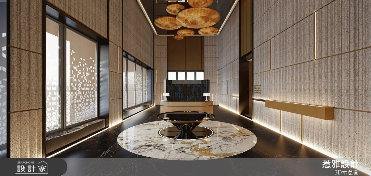 250坪低調奢華的現代感公設,成就高質感的居住環境及細膩氛圍